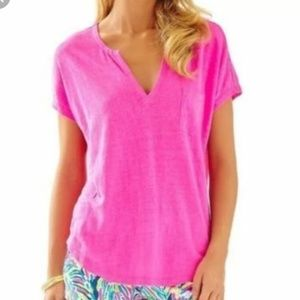 Lilly Pulitzer, Duval linen top